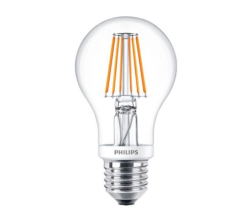 3. Philips LEDClassic 7.5 - 70W LED light bulb