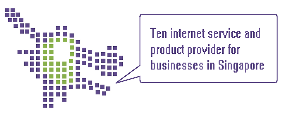ten isp internet service and product provider for businesses in Singapore