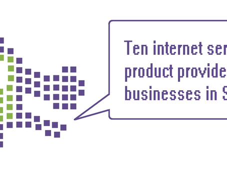 Ten ISPs  for businesses in Singapore