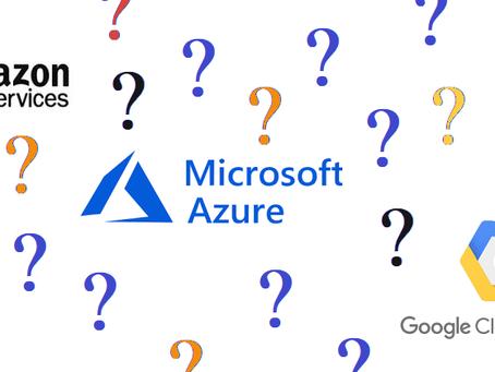 AWS vs Azure vs Gcloud
