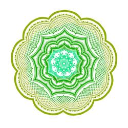 Mandala made on Ipad