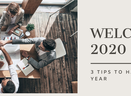 3 Tips to have a successful 2020