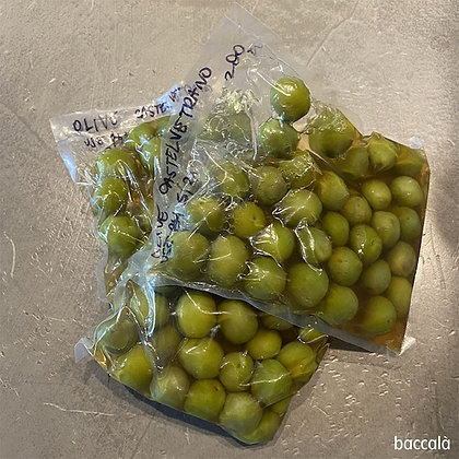 Castelvetrano 'Nocellara del Belice' green olives 150 gr