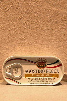 Anchovies fillet Recca  56 gr