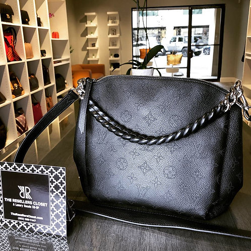 2018 Louis Vuitton Black Babylone PM Crossbody