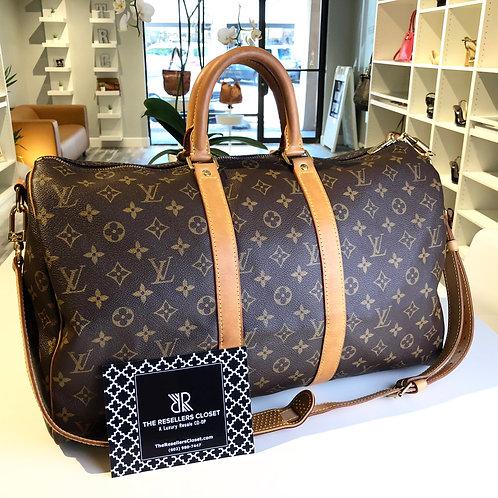 Louis Vuitton Keepall Monogram Bandouliere 45