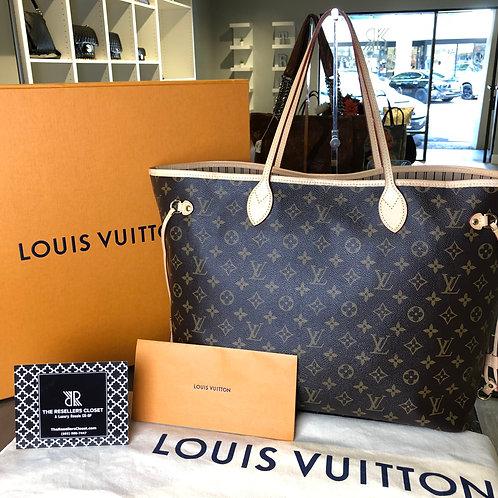 2018 Louis Vuitton Neverfull Monogram GM
