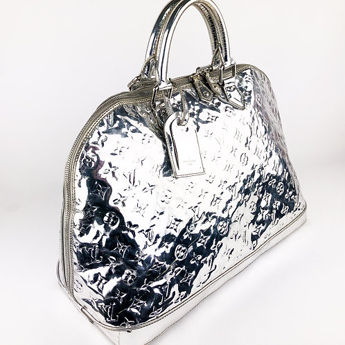 Louis Vuitton Alma Voyage Vernis Silver/Mirror Travel Bag