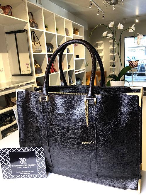 Fendi Classico No. 4 Tote/Briefcase Bag