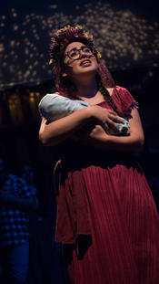 """as María in """"La Posarela"""" @ Brava Theater, 2018"""