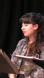 "as Pilar in ""Dreaming in Cuban"" @ Brava Theater, 2017"