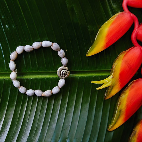Shell Blessing Bead