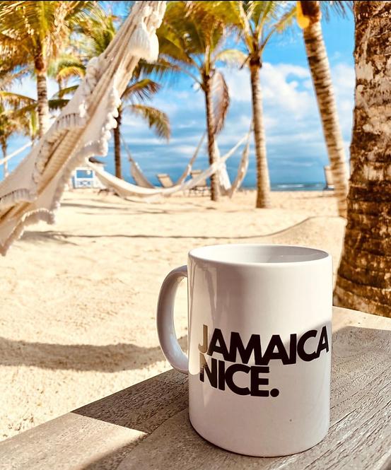 12oz Jamaica Nice Printed Mug