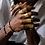 Thumbnail: Hammered Brass Ring (Unisex)