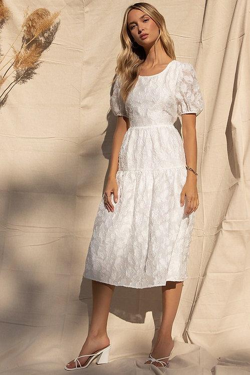 Puff Sleeves Dress Dress