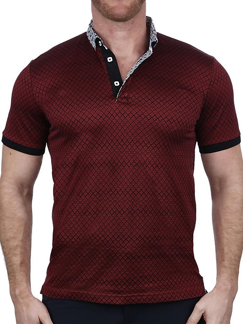 Mozart Maille Red Polo