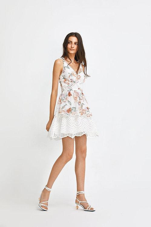 Swan Short Dress