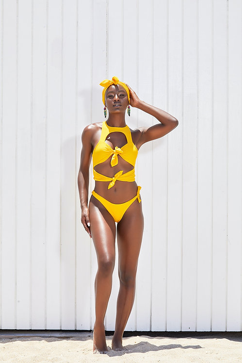 MoBay Tie Front Bikini