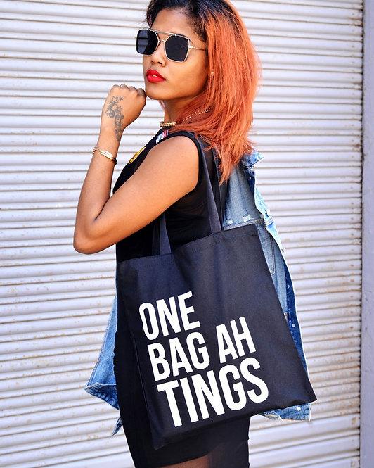 Black & White One Bag Ah Tings Tote