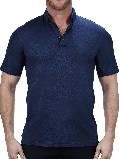Mozart Heather Stretch Grey Polo