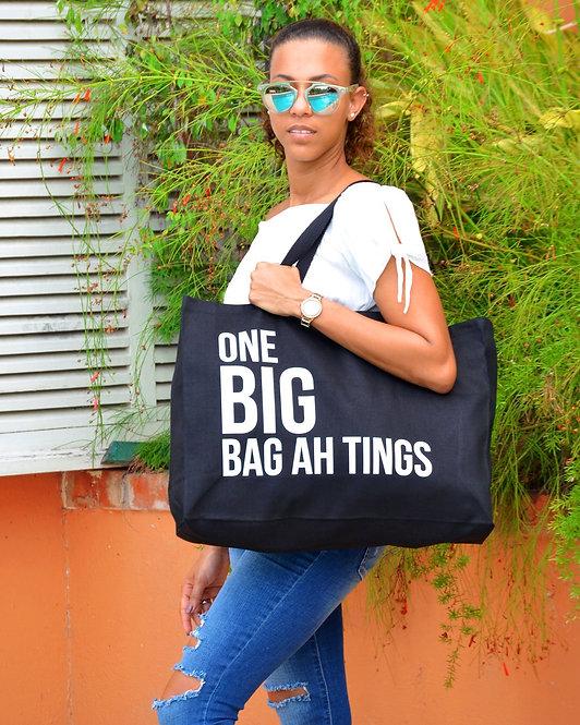 Black & White One BIG Bag Ah Tings Tote