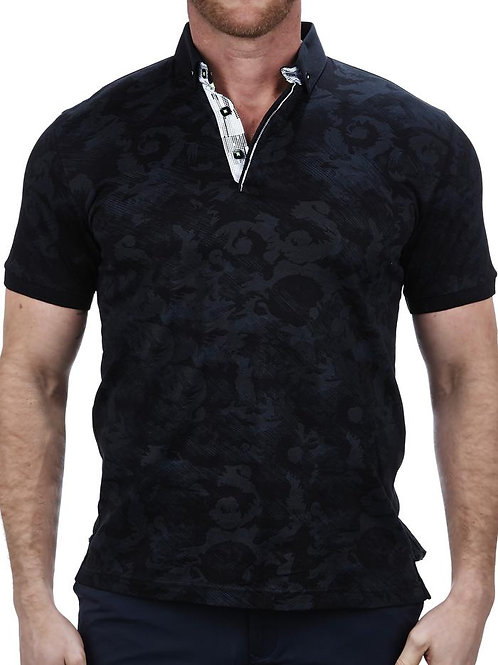 MozartBat Black Polo
