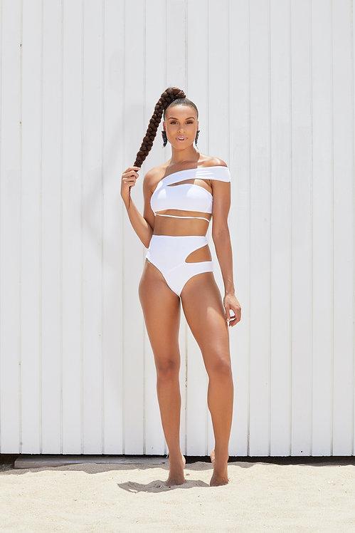 Portmore Asymmetrical High Waist Bikini