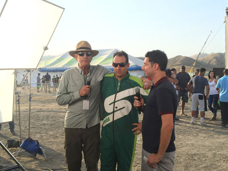 Facebook Live interview following Luke's successful skydive without a parachute