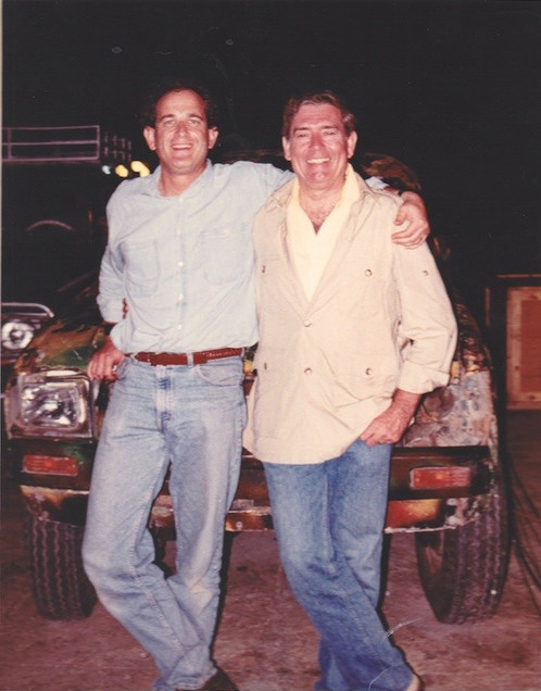 With Dan Rather in Somalia before US invasion