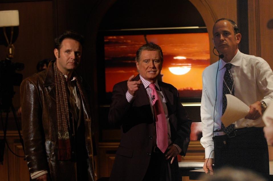 Mark Burnett, Regis Philbin and Al Berman
