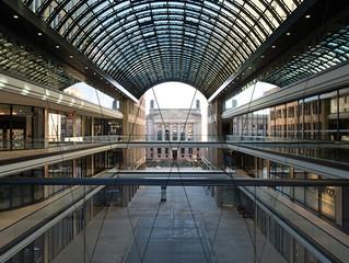 "Neubau des Einkaufszentrums ""Mall of Berlin"", Berlin, 2015"