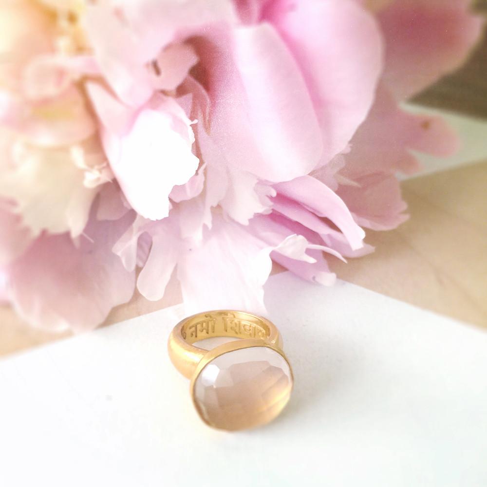 Om Namah Shivaya ring