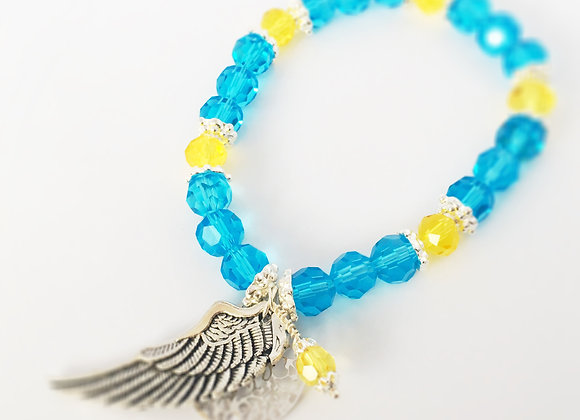 Crystal Angel bracelet