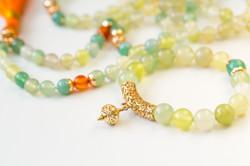 Aroha Soul bracelet +108-bead mala