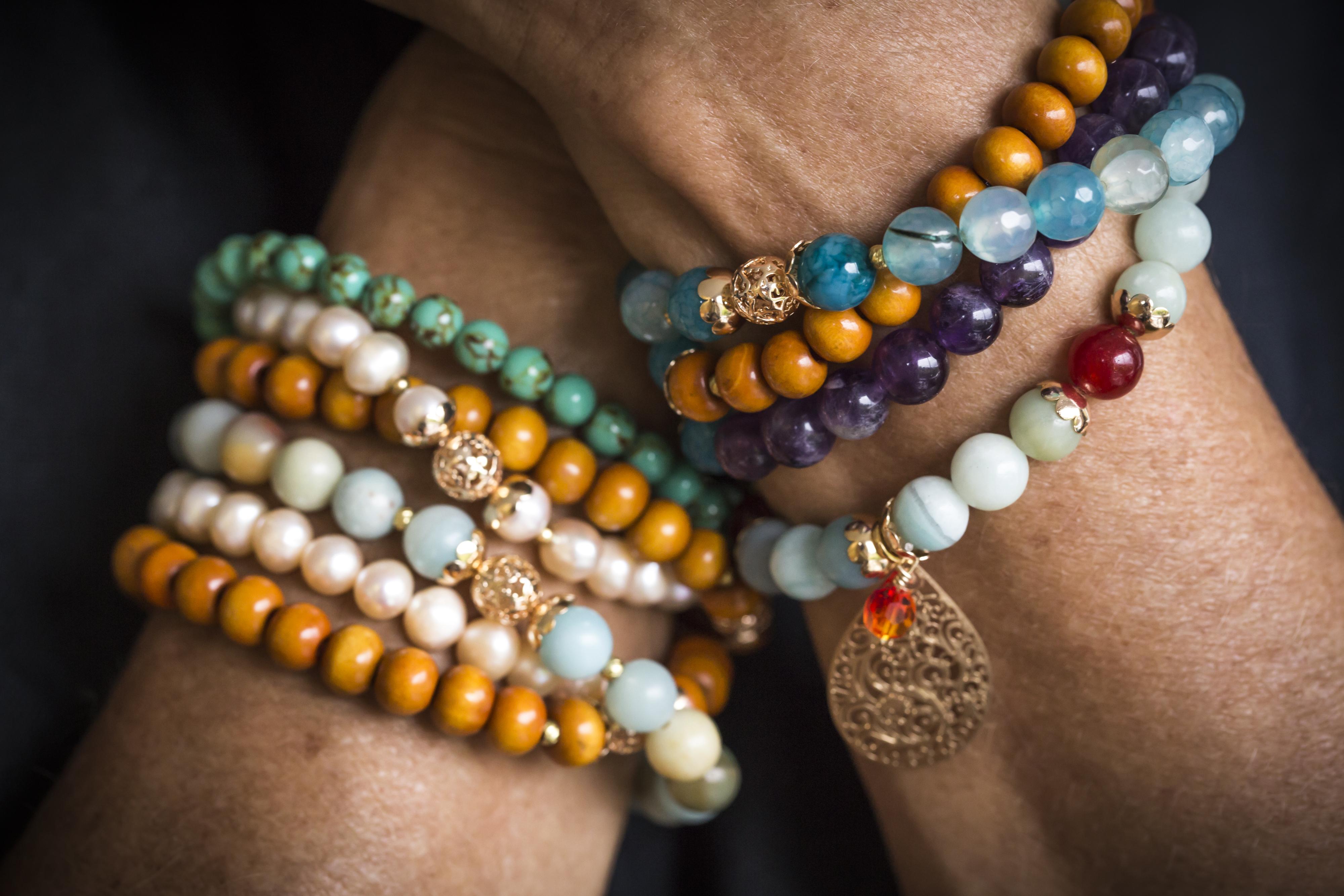 Aroha Soul stretch bracelets