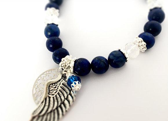 Lapis Lazuli Angel bracelet