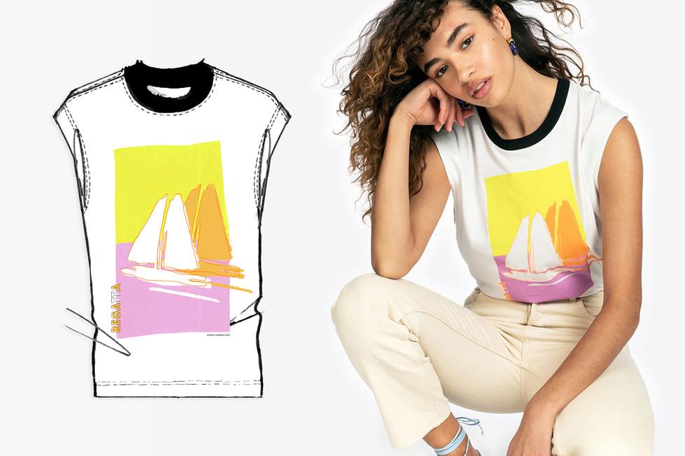 Printed T-shirt -white sailboat 2.jpg