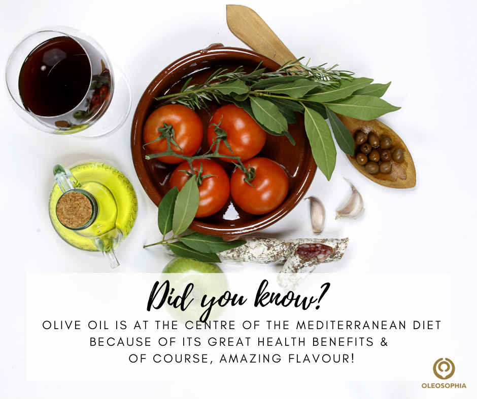Olive oil in the Med diet