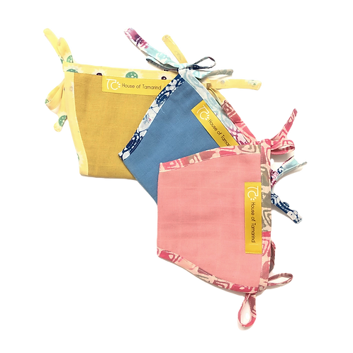 ORGANIC COTTON NAPPIES (SET 5)