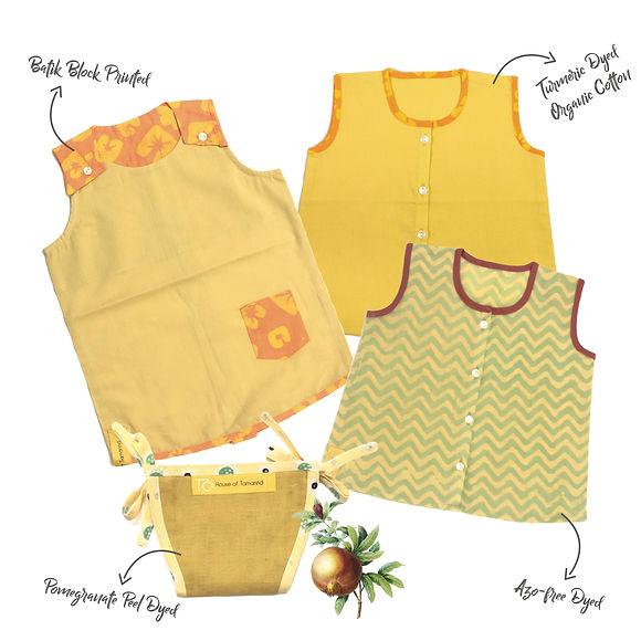 turmeric baby gift set