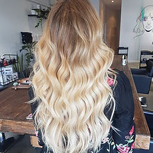 When your six week old colour looks this fresh!! 😍 back view of these killer extensions!