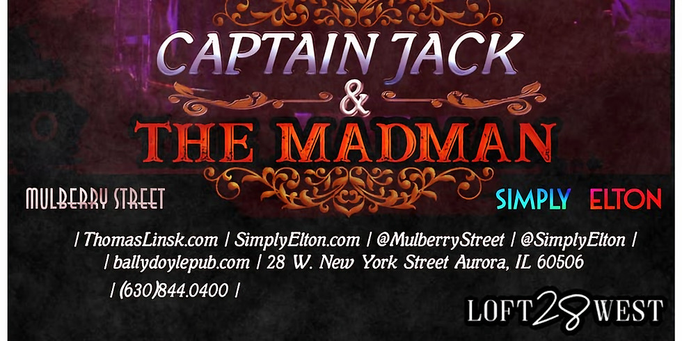 CAPTAIN JACK & THE MADMAN