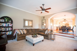 Naperville Transitional Living Room
