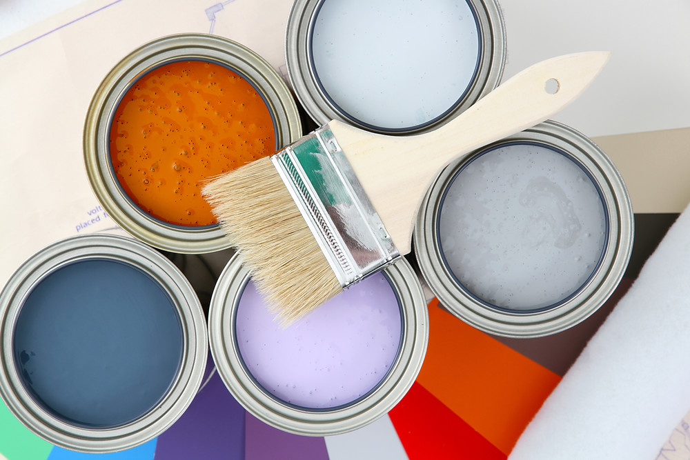 paint, colors, modern, modern colors, creative, imagination, rainbow, wall color, color palette