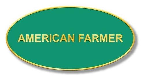 American Farmer Pin