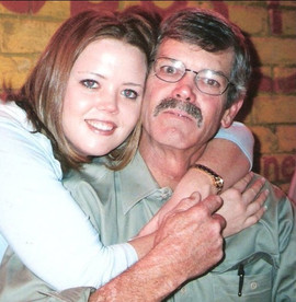Amanda Fancher Carruth  and her father.j