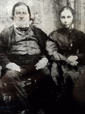 Isaac Short and his wife Mary Vandergrif