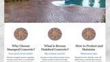 Impressions Concrete of WNY screen shot.