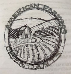 Original Logo drawing, by Davena Liepman
