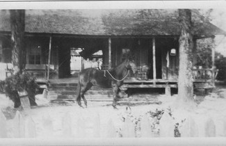 Davis homestead in Sardis, San Augustine